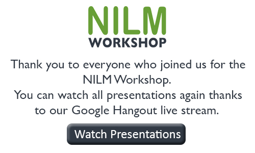 NILM Workshop Watch Presentations